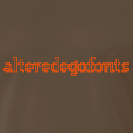 Design ~ Altered Ego Fonts Heavyweight T-Shirt