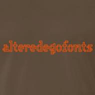 Design ~ Altered Ego Fonts Heavyweight T-Shirt