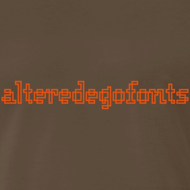 Altered Ego Fonts Heavyweight T-Shirt