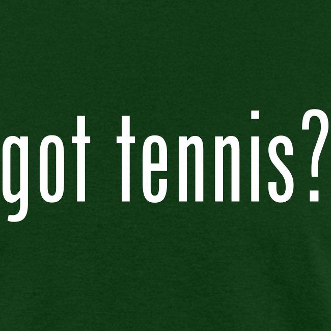 Got Tennis (green)