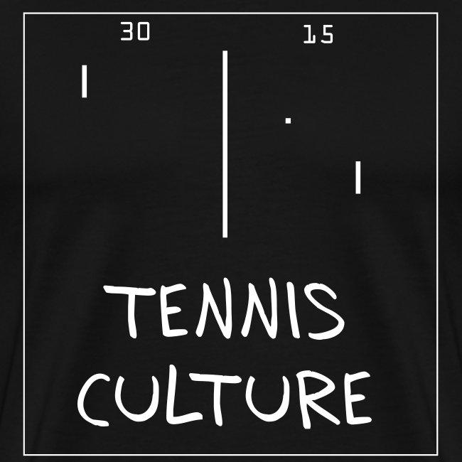 Tennis Culture (black)