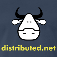 Design ~ navy cow no slogan