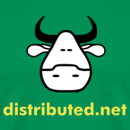 Design ~ green cow no slogan