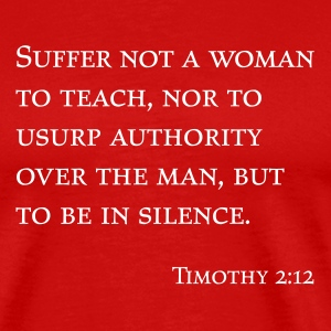 Red Timothy 2:12 Men - Men's Premium T-Shirt
