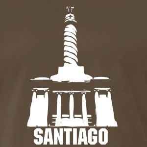 Monument of Santiago T-Shirts - Men's Premium T-Shirt