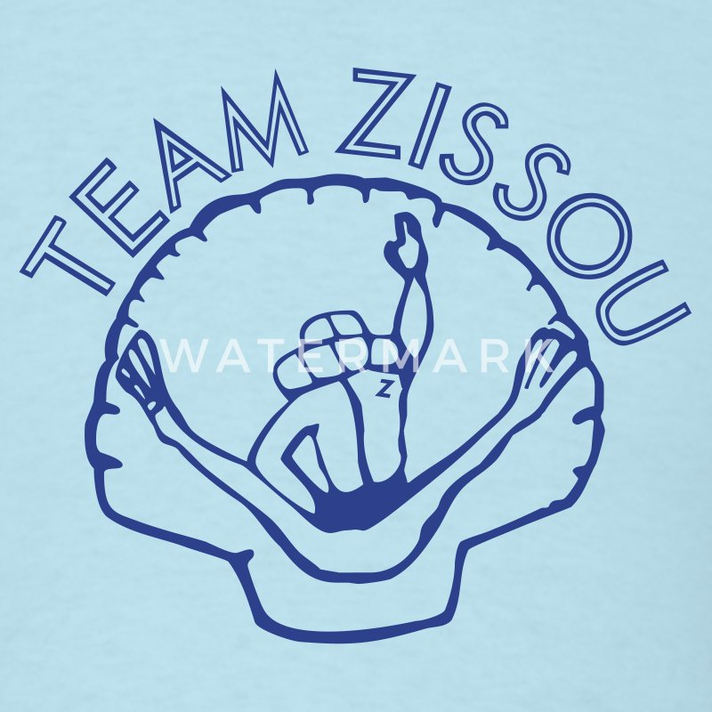 Sky blue team zissou diver shell T-Shirts - Men's T-Shirt