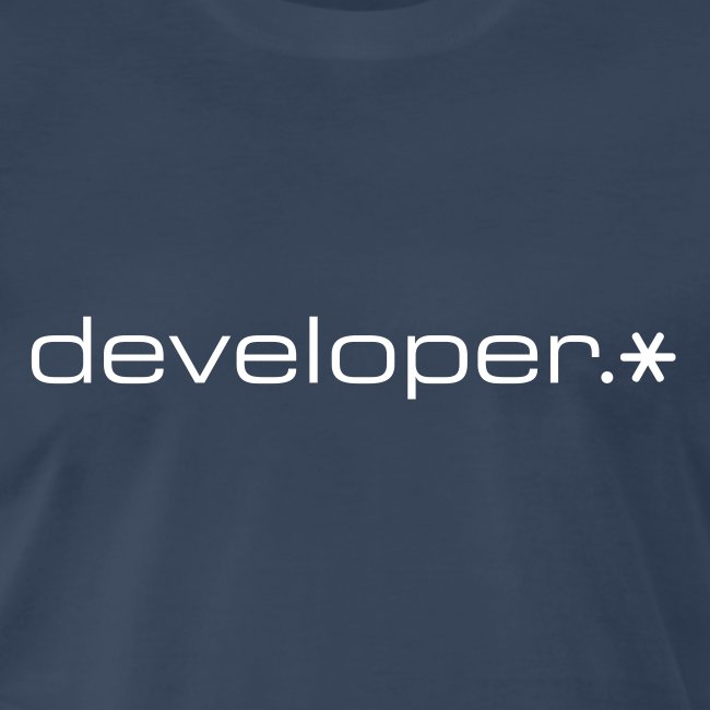 XXXL Navy developer.* Tee