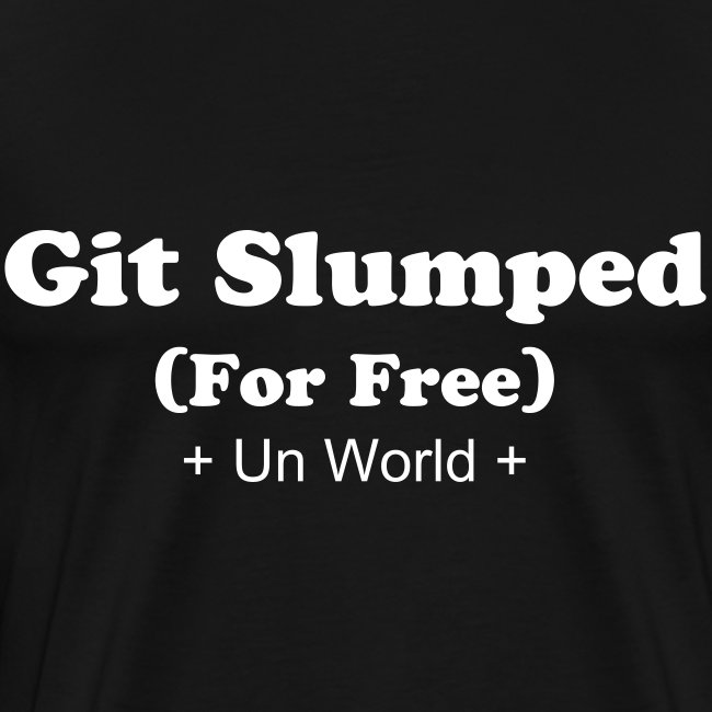 Git Slumped (Black/White)