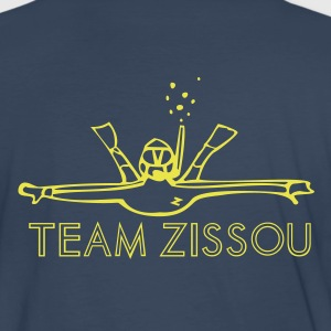 Navy team zissou diver T-Shirts - Men's Premium T-Shirt