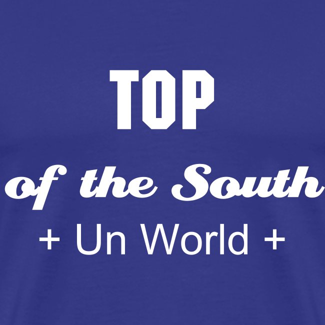 Top of the South (Blue/White)
