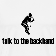 Design ~ Backhand (white)
