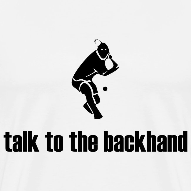 Backhand (white)