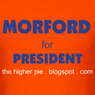 Design ~ Official Higher Pie Morford for President Shirt (Editable!)