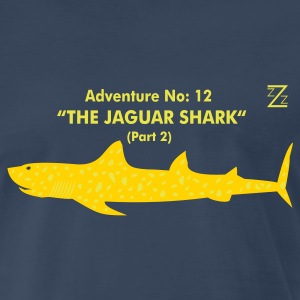 Navy jaguar shark T-Shirts - Men's Premium T-Shirt