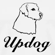 Design ~ Men's White Updog