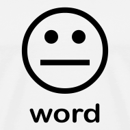 Design ~ Word (white)