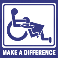 Design ~ Make a Difference (blue/white)