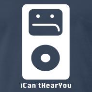 Design ~ iCan'tHearYou (navy)