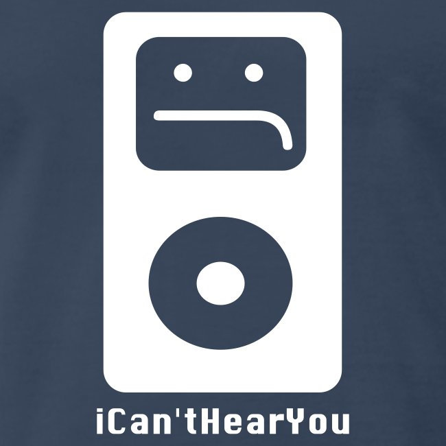 iCan'tHearYou (navy)