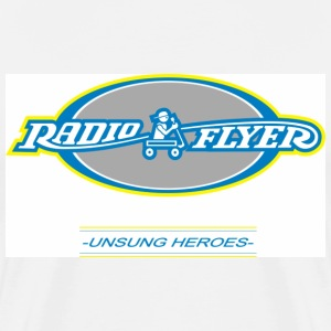 White Radio Flyer - Unsung Heroes Men - Men's Premium T-Shirt