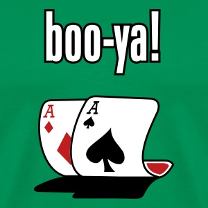 Pocket Aces Boo-Ya T shirt  - Men's Premium T-Shirt