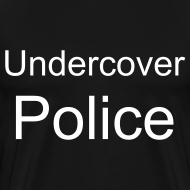 Design ~ Undercover Police Tee Heavyweight
