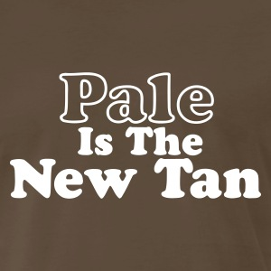 Chocolate Pale is the New Tan Men - Men's Premium T-Shirt