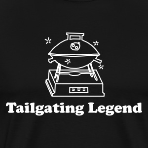 tailgating legend - Men's Premium T-Shirt