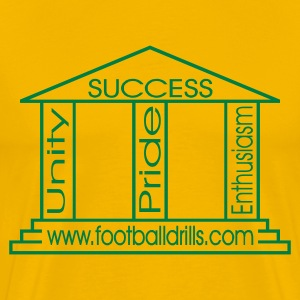Yellow pillars of success Men - Men's Premium T-Shirt