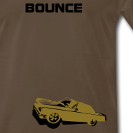 Design ~ BOUNCE  (metallic gold print)