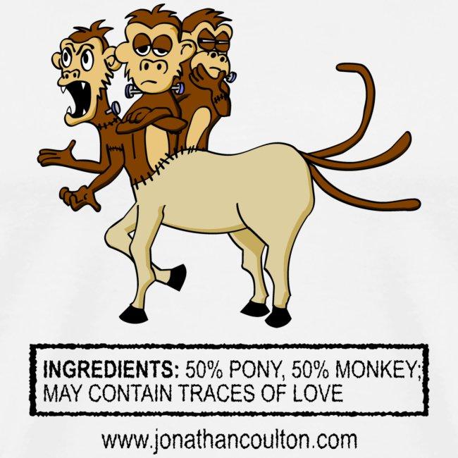 Half Pony Half Monkey Monster