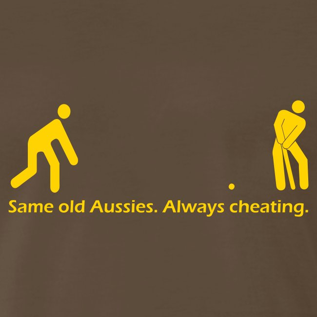 Always Cheating Mens T-shirt - Color Changeable