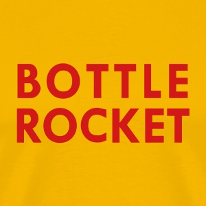 Yellow bottle rocket T-Shirts - Men's Premium T-Shirt