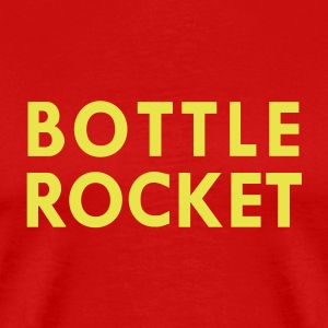Red bottle rocket T-Shirts - Men's Premium T-Shirt