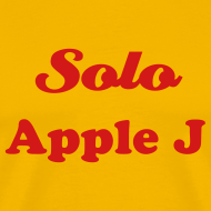 Design ~ SOLO APPLE J - T-SHIRT - IZATRINI.com