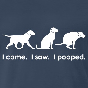 I came. I saw. I pooped. - Men's Premium T-Shirt