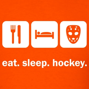 Eat. Sleep. Hockey. T-Shirts - Men's T-Shirt