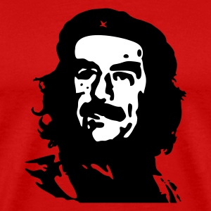 Red Viva la Saddam! Men - Men's Premium T-Shirt