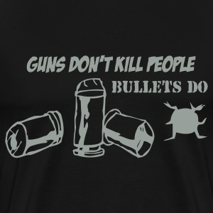 Guns don't kill People - Men's Premium T-Shirt
