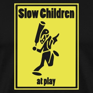 Slow Children at Play - Men's Premium T-Shirt