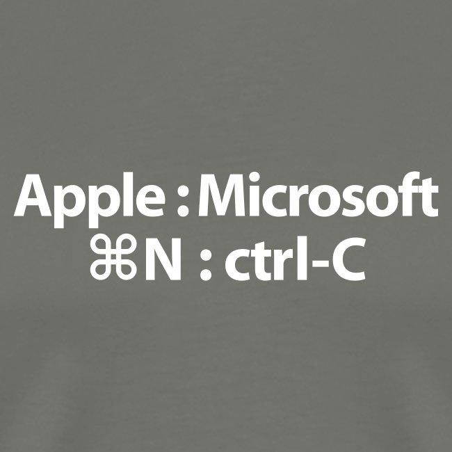 Apple Innovates, Microsoft Imitates T-Shirt