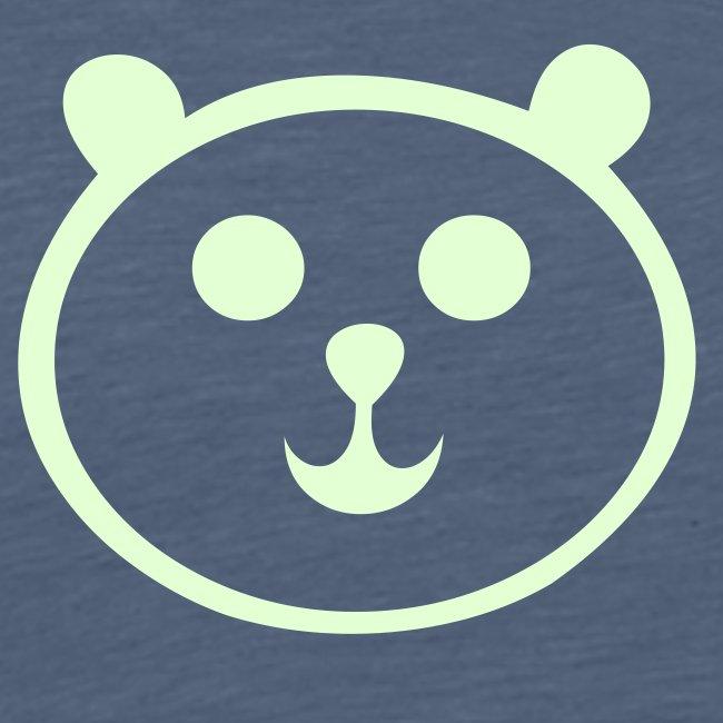 glow in the dark panda