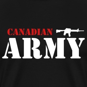 Black Canadian Army Men - Men's Premium T-Shirt