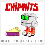 Design ~ Heavyweight cotton T-Shirt - Chipwit and pie