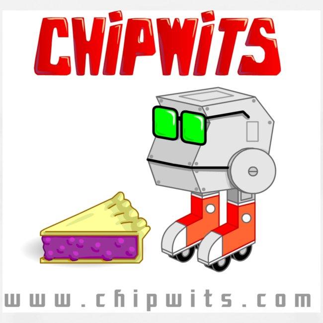 Heavyweight cotton T-Shirt - Chipwit and pie