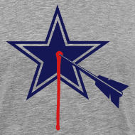 Design ~ Dallas STARGET2-color  Tshirt