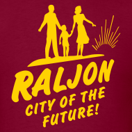 Design ~ RALJON, City Of The Future T-shirt