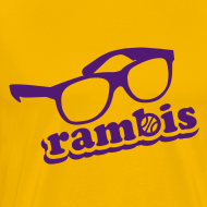 Design ~ RAMBIS! Kurt Rambis Retro T-Shirt