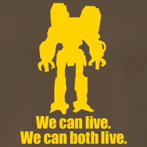 Chocolate We Can Live... Men - Men's Premium T-Shirt