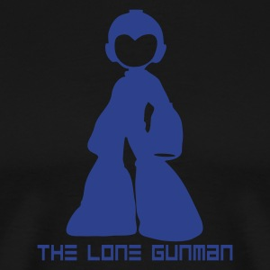 Megaman: The Lone Gunman - Men's Premium T-Shirt